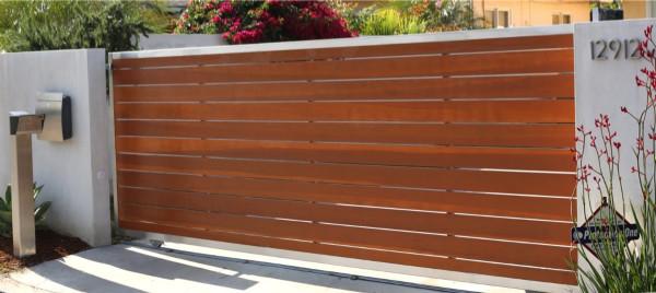 Gates For Entry Amp Drive Plexiglass Fence Modern