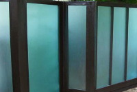 PERGOLAS, PATIOS - Plexiglass Fence, Modern Fence Design